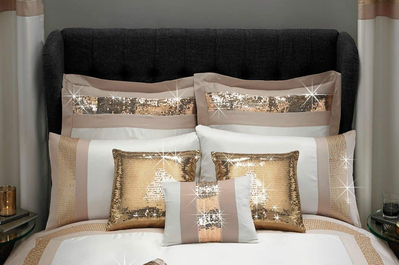 Adding the Midas touch to a bedroom