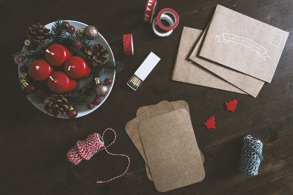 save money on wrapping supplies - brown paper