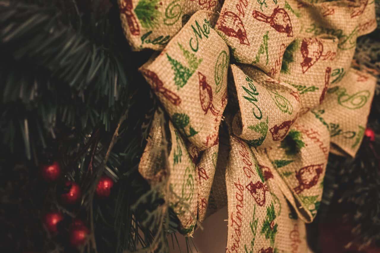 DIY Christmas Decoration - Christmas wreath