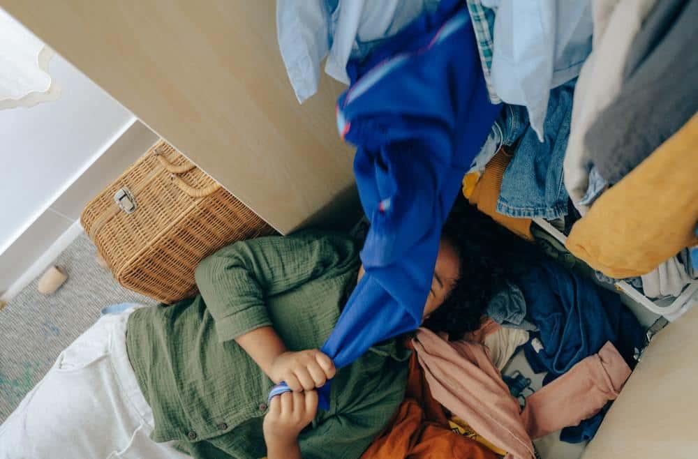 getting your wardrobe organised