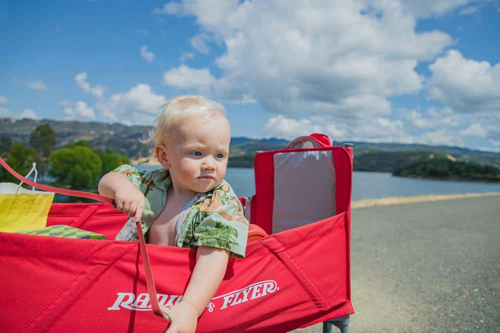 travelling with kids under 3